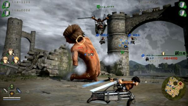 Koei Tecmo's Attack on Titan 2