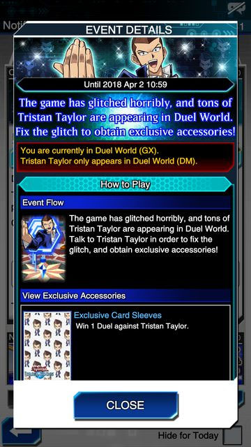 April Fools' Day 2018: Yu-Gi-Oh! Duel Links