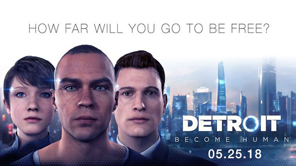 Detroit Become Human Details Its Three Protagonists Gematsu