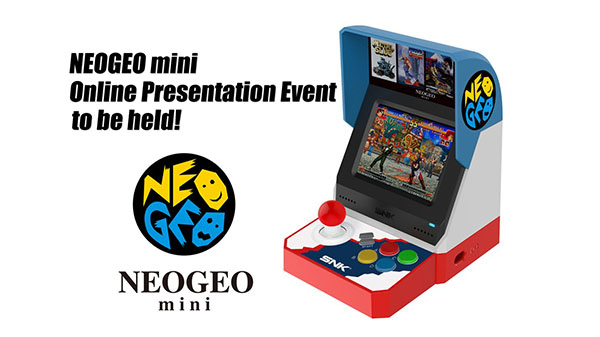 Neo Geo Mini Online Presentation Event