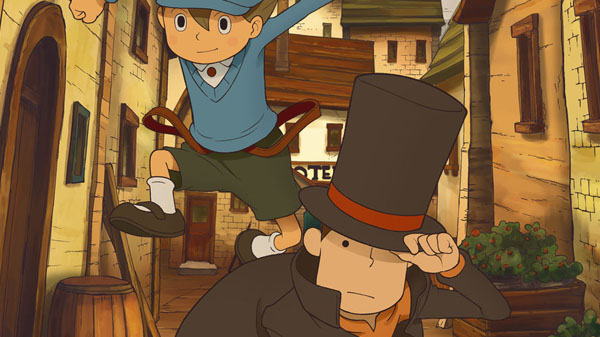 Professor Layton and the Curious Village EXHD for Smartphone
