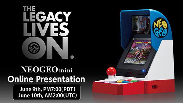 Neo Geo Mini Online Presentation