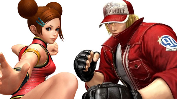 Mui Mui and Terry Bogard