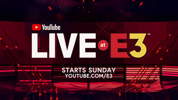YouTube Live at E3 2018