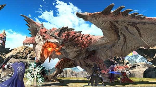 Final Fantasy XIV x Monster Hunter: World collaboration