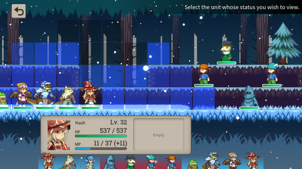 Side-scrolling tactical RPG Magic Scroll Tactics coming to