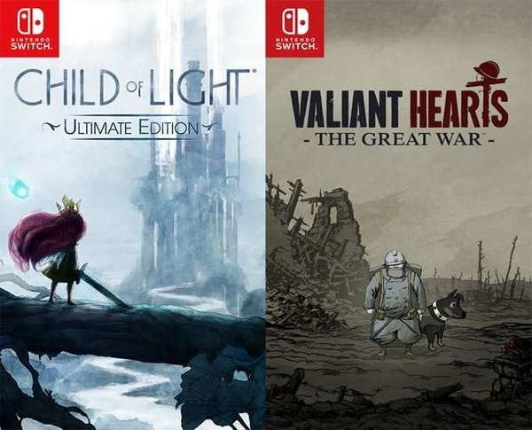 Child of Light and Valiant Hearts: The Great War