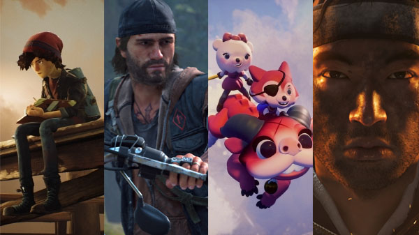 Concrete Genie, Days Gone, Dreams, and Ghost of Tsushima