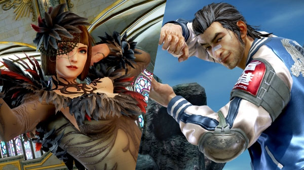 Tekken 7 DLC characters Anna Williams and Lei Wulong launch