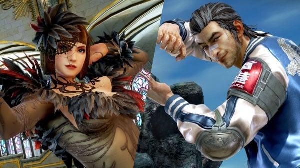 Tekken 7 Dlc Characters Anna Williams And Lei Wulong Launch