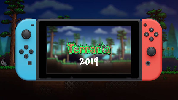 Terraria for Switch launches in 2019 - Gematsu