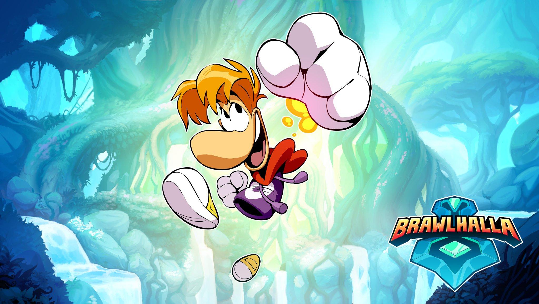 Brawlhalla to add Rayman on November 6 - Gematsu