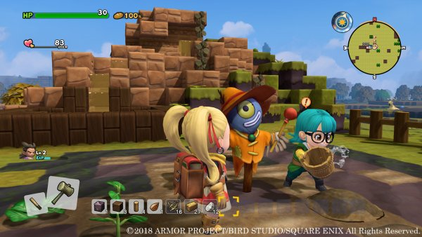 Dragon Quest Builders 2 details Monzola Island setting, more evolved