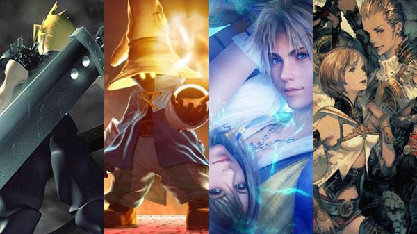 Final Fantasy VII, IX, X | X-2 HD Remaster, and XII: The Zodiac Age