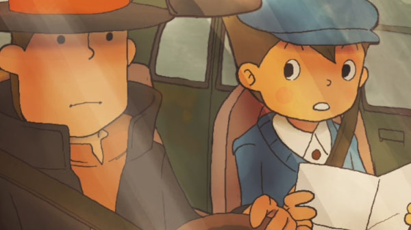 Professor Layton and the Curious Village HD for Mobile