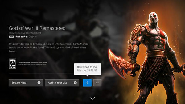 PlayStation Now adds PS4 and PS2 game downloads - The
