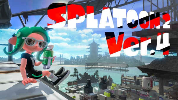 Splatoon 2 version 4.0 update