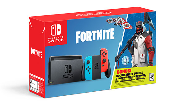 Switch Fortnite Double Helix Bundle launches October 5 - Gematsu