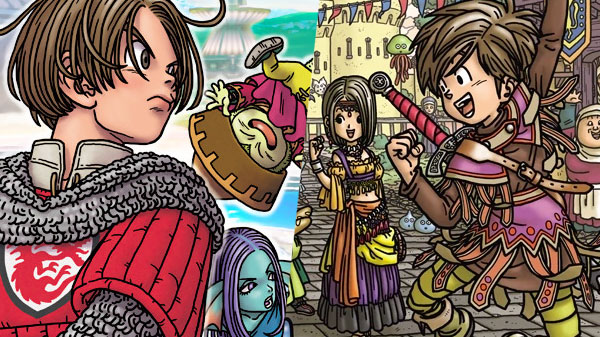 Dragon Quest X  and Dragon Quest IX