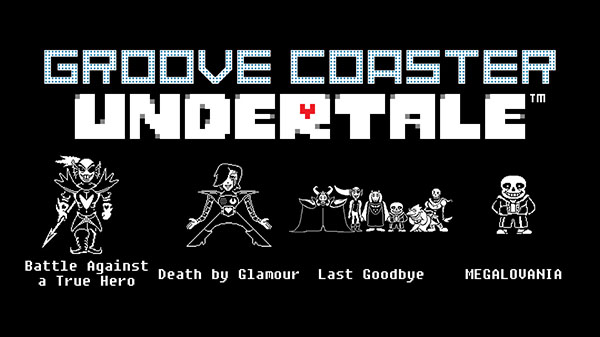 Groove Coaster for Steam 'Undertale' DLC songs now available