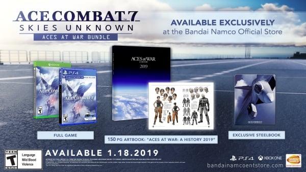 Ace Combat 7: Skies Unknown Aces at War Bundle