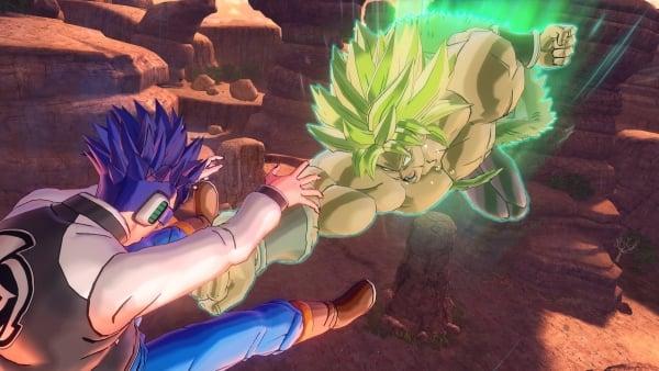 Dragon Ball Xenoverse 2 DLC character Broly (Super Saiyan Full Power