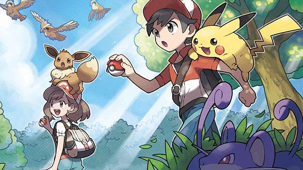 Pokemon: Let's Go, Pikachu! / Let's Go, Eevee!