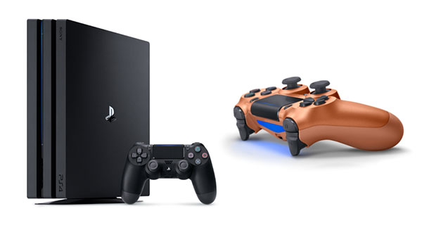 PS4 Pro 2TB and Copper DualShock 4