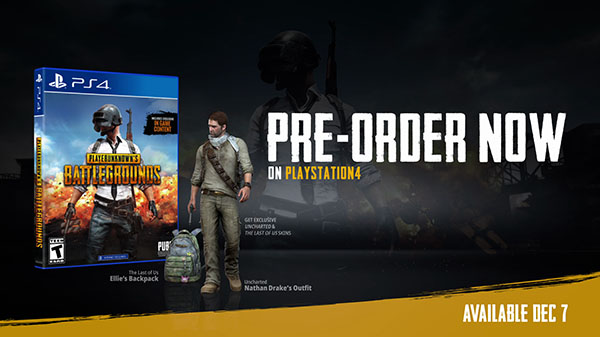 Playerunknown S Battlegrounds Coming To Ps4 On December 7 Gematsu