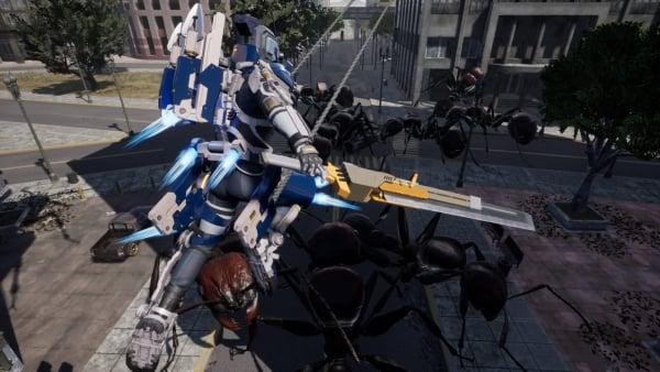 earth defense force iron rain details prowl rider gematsu. Black Bedroom Furniture Sets. Home Design Ideas