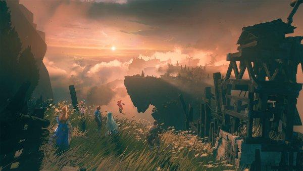 Gran Blue Fantasy gameseries (PS4/pc steam/ mobile) Versus playable