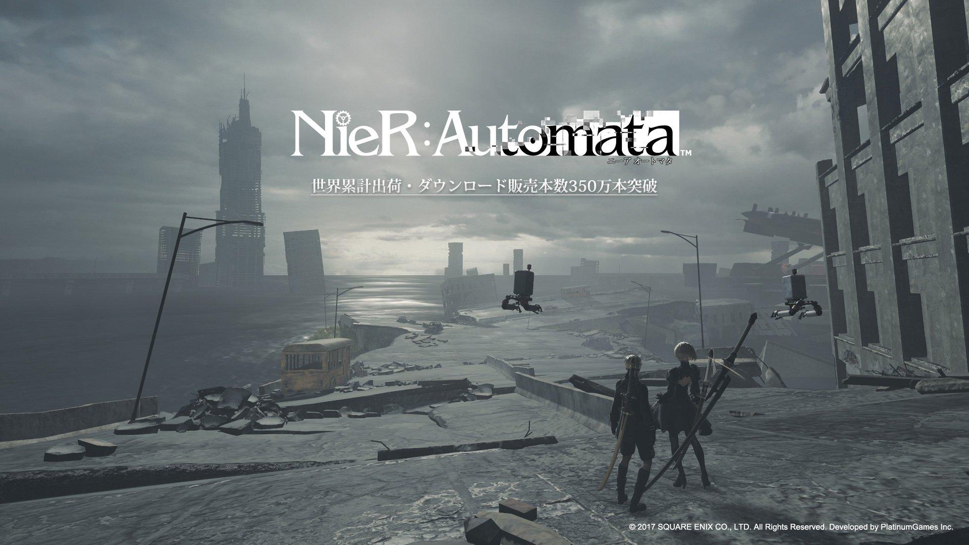 Nier Automata Shipments And Digital Sales Top 3 5 Million Gematsu