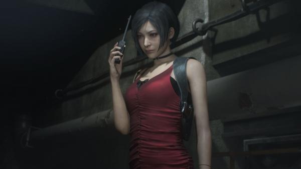 Resident Evil 2 Ada And Tyrant T 00 Screenshots Gematsu