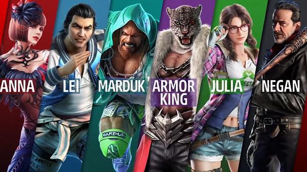 Tekken 7 Dlc Characters Craig Marduk Armor King And Julia Chang