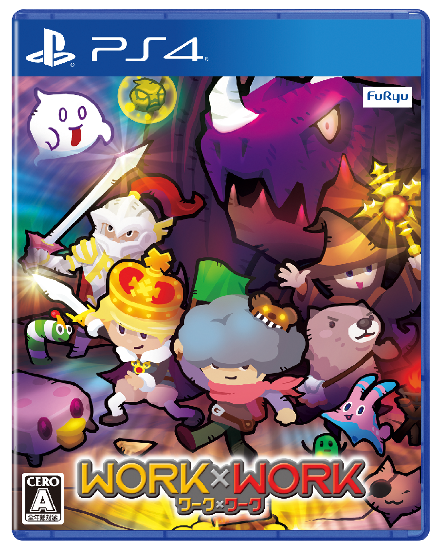 Work x Work for PS4 Japanese box art - Gematsu