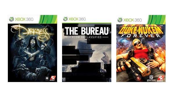 The Darkness, The Bureau: XCOM Declassified, Duke Nukem Forever