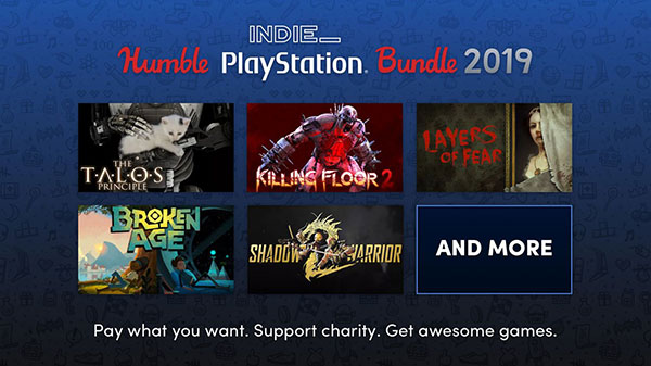 Humble Indie PlayStation Bundle 2019 includes nine games for $15