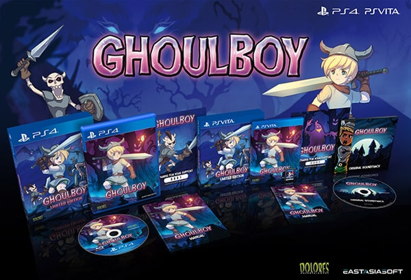 GhoulBoy for PS4, PS Vita limited run physical edition announced
