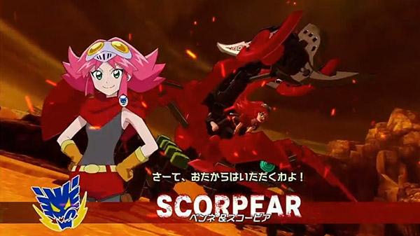 Zoids Wild: King of Blast 'Scorpear' trailer