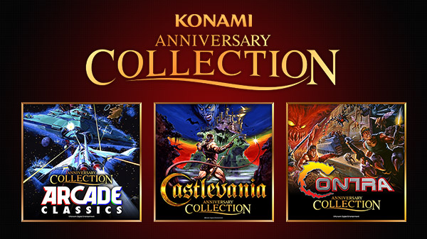 Konami 50th Anniversary Collection series