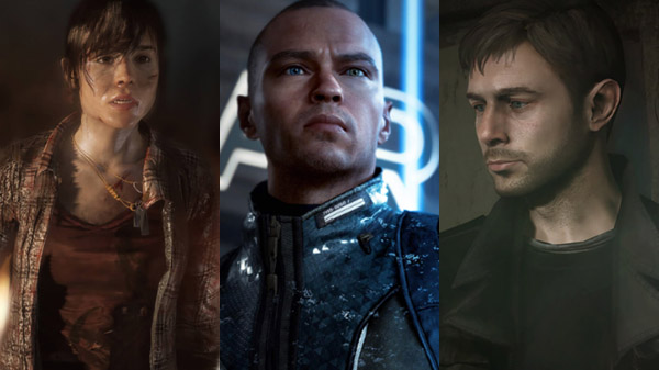 Heavy Rain, Beyond: Two Souls, and Detroit: Become Human