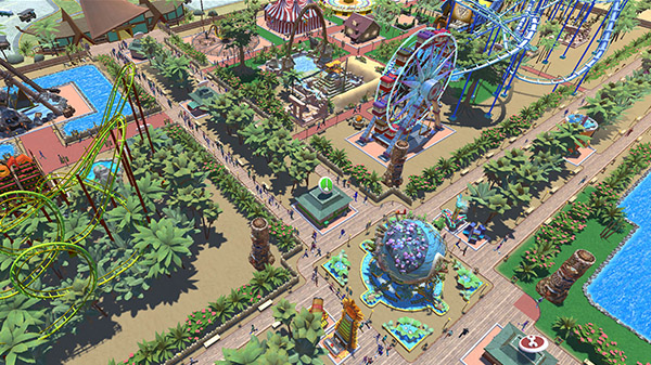 RollerCoaster Tycoon Adventures now available for PC - Gematsu