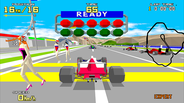Sega Ages Virtua Racing launches this spring Japan, adds online and