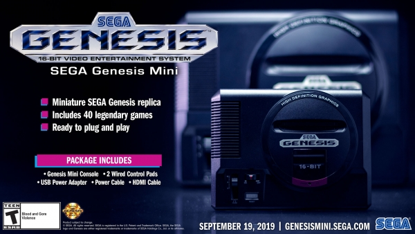 Sega Genesis / Mega Drive Mini