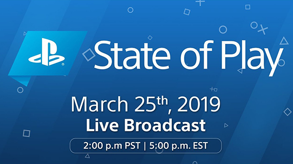 PlayStation State of Play live stream: March 25, 2019