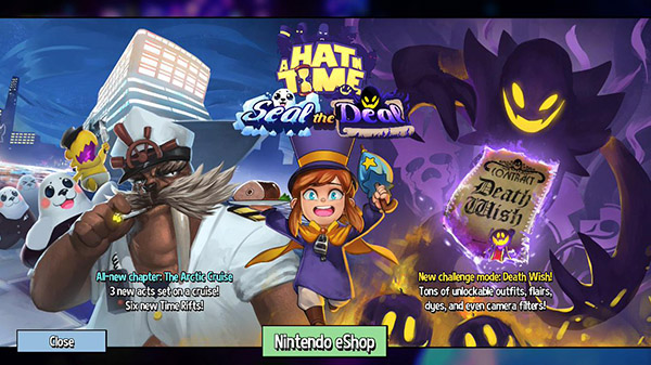 A Hat in Time DLC 'Seal the Deal'