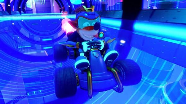 Crash Team Racing Nitro-Fueled pre-order bonus 'Electron Skins