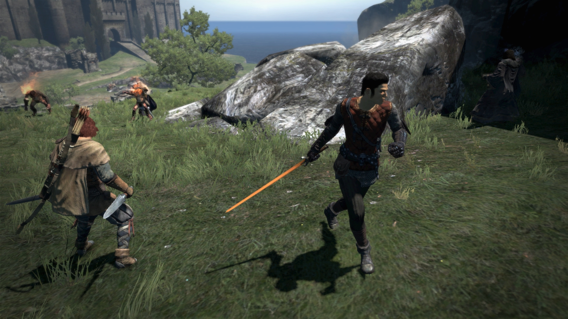 Dragon's Dogma: Dark Arisen for Switch x Travis Strikes Again: No More Heroes collaboration announced