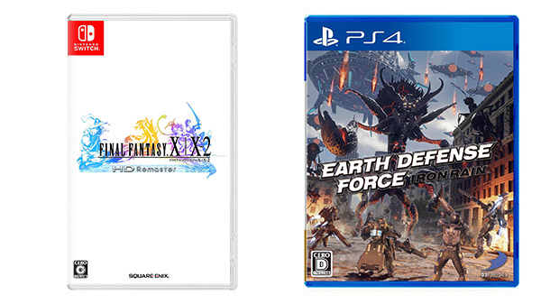 This Week's Japanese Game Releases: Earth Defense Force: Iron Rain, Final Fantasy X | X-2 HD Remaster ports, more