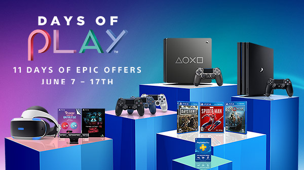 PlayStation Days of Play 2019 set for June 7 to 17 - Gematsu